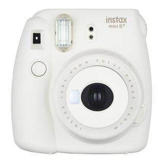 Fujifilm Instax Mini 8+ (Vanilla) Instant Film Camera + Self Shot Mirror for Selfie Use