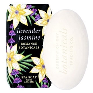 Sensual and Romantic Lavender and Jasmine Botanical Spa Soap (Pack of 6)