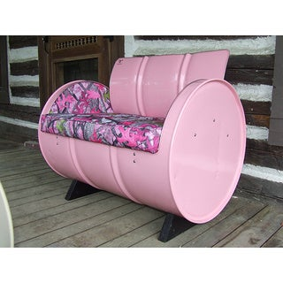 Country Chic Armchair (Option: Pink)