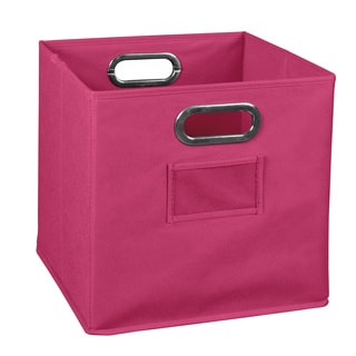 Niche Cubo Foldable Fabric Storage Bin- Pink