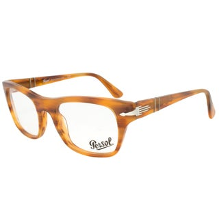 Persol PO3070V 960 Rectangular Striped Brown Eyeglass Frames