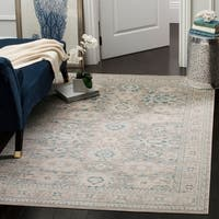 Safavieh Archive Vintage Grey/ Blue Distressed Rug - 4' x 6'