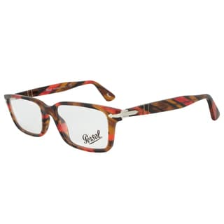 Persol PO2965VM 978 Rectangular Red Havana Eyeglass Frames