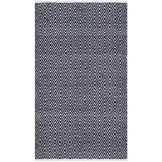 Safavieh Handmade Boston Navy Cotton Rug (3' x 5')