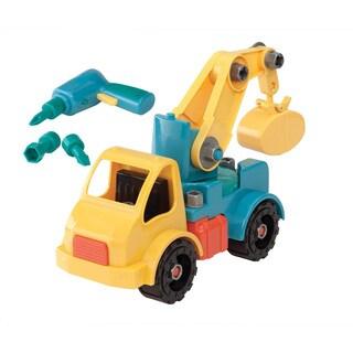 Toysmith Take Apart Crane Truck