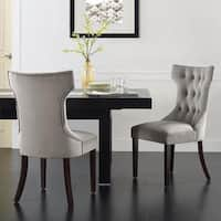 Avenue Greene Janna Tufted Dining Chair (Set of 2)