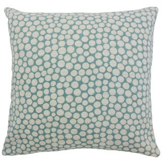 Elif Polka Dot 18-inch Down and Feather Filled Throw Pillows