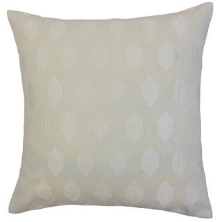 Gal Geometric 18-inch Down and Feather Filled Throw Pillows