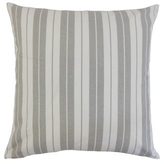 Henley Stripes 18-inch Down and Feather Filled Throw Pillows