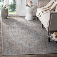 Safavieh Classic Vintage Grey Cotton Distressed Rug - 3' x 5'
