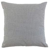 Keats Plaid 18-inch Down and Feather Filled Throw Pillows