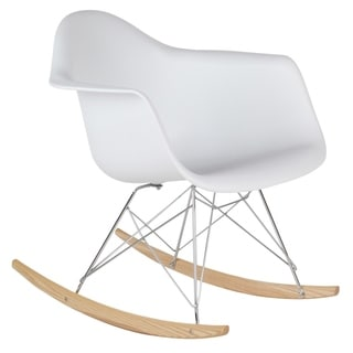 Retro Eames Style Rocking Chair