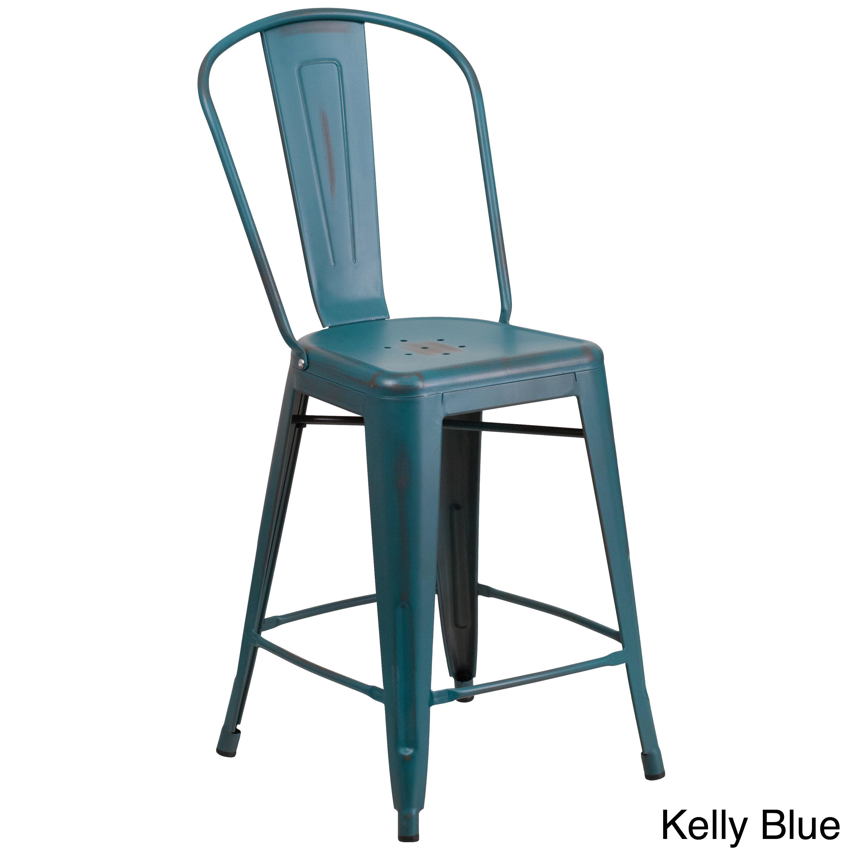 distressed metal furniture. Plain Metal ClayAlderHomeLangleyDistressedMetalIndoor24 In Distressed Metal Furniture