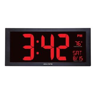 AcuRite 18 Digital Wall Clock