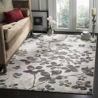 Safavieh Evoke Vintage Floral Grey / Black Distressed Rug - 3' x 5'