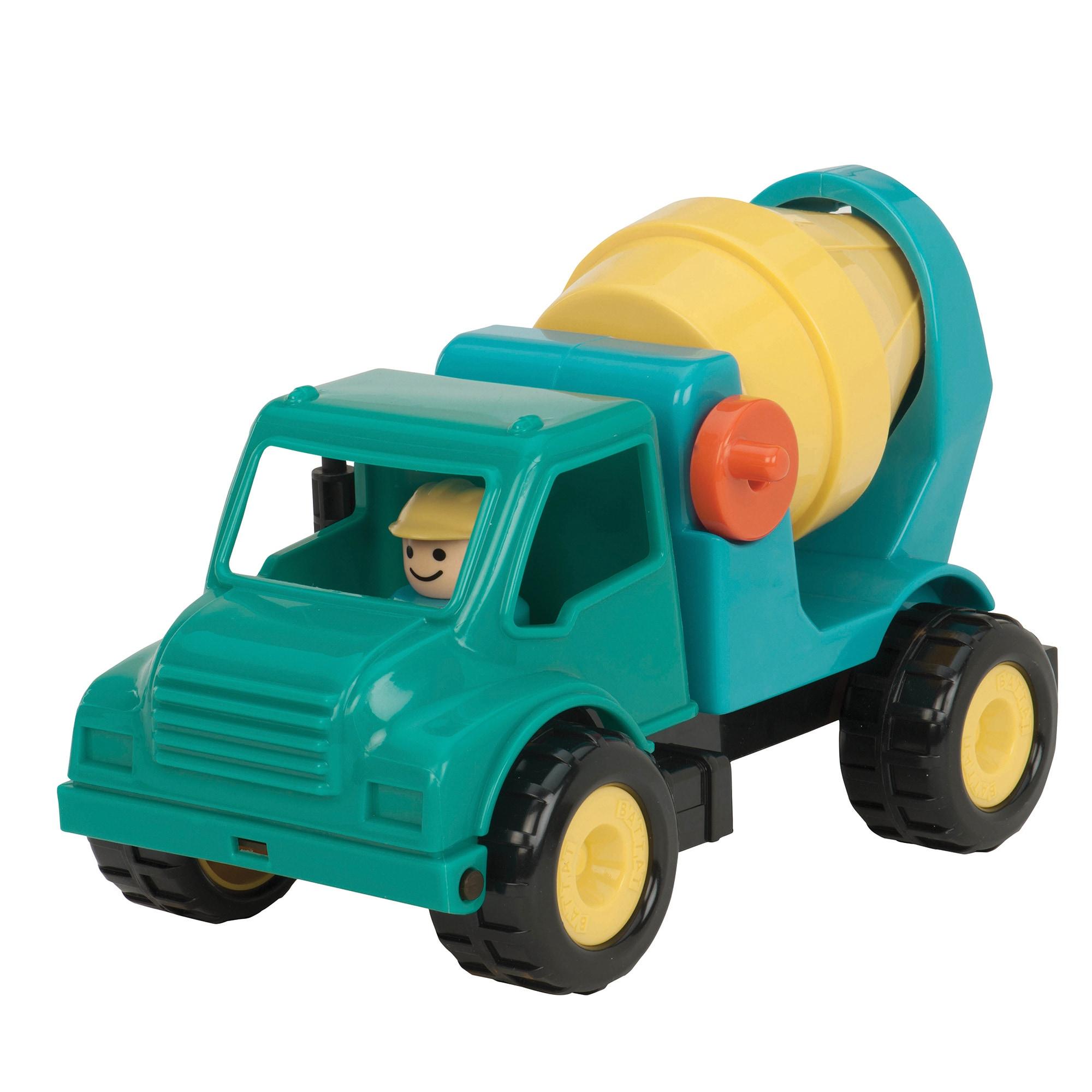 Toysmith Toy Cement Truck (G062243267459), Multi