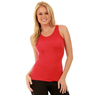 InstantFigure Slimming Scoop Tank Top