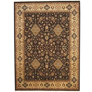 Herat Oriental Pakistani Hand-knotted Kashan Wool & Silk Rug (8'9 x 12')