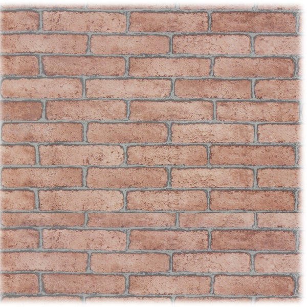 Shop Upscale Designs Brick Pattern Textured Self Adhesive Wall Paper Best Brick Pattern Paper