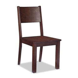 Tremont Cinnamon Large Ergonomic Panel Dining Chair (Set of 2)