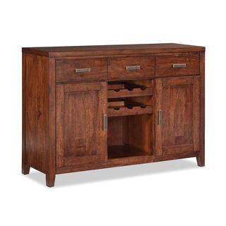 Tremont Cinnamon Sideboard with Wine Rack