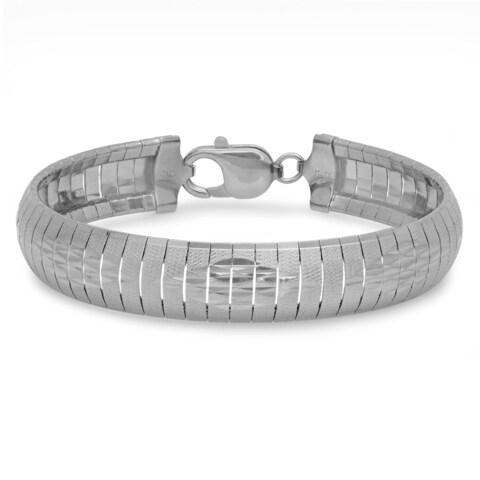 Sterling Essentials Bronze Marquise Cubetto Bracelet
