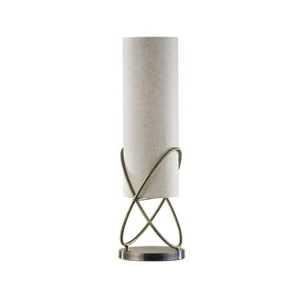 Weathered Brass Internal Table Lamp