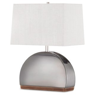 Media Luna Table Lamp Gun Metal