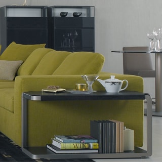 Trani Leather End Table