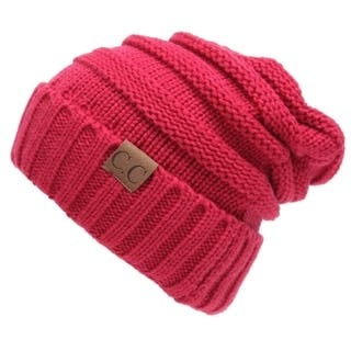 CC Trendy Cable Knit Acrylic Slouchy Beanie|https://ak1.ostkcdn.com/images/products/11194300/P18184950.jpg?impolicy=medium