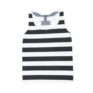Soho Women's Plus Size 1XL/ 2XL Stripe Racerback Casual Sleeveless Tank Top (Size 15-20)