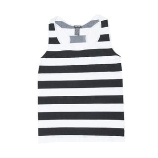 Soho Women's Plus Size 2XL/ 3XL Stripe Racerback Casual Sleeveless Tank Top (Size 20-25)