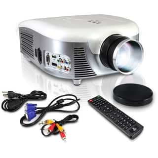 Pyle PRJD907 LED Widescreen Projector, 1080p HD Support, Up to 140-Inch Display, Built-In Speakers, Zoom Screen Size Adjustable|https://ak1.ostkcdn.com/images/products/11195952/P18186302.jpg?impolicy=medium