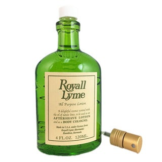Royall Lyme 4-ounce All Purpose Lotion (Tester)