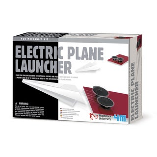 4M Electric Plane Launcher Science Kit