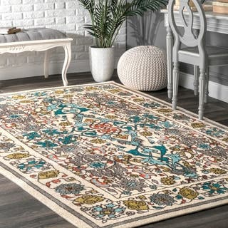 nuLOOM Modern Persian Printed Floral Multi Rug (9' x 12') https://ak1.ostkcdn.com/images/products/11197369/P18187475.jpg?impolicy=medium
