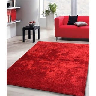Shag Solid Red Area Rug (5' x 7')|https://ak1.ostkcdn.com/images/products/11197382/P18187491.jpg?impolicy=medium