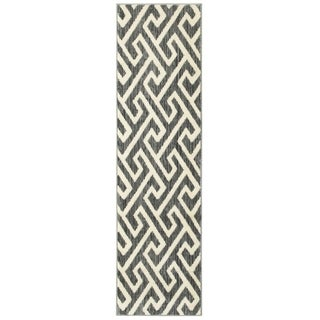 LNR Home Grace LR81121 Grey Rug (2'1 x 7'5)