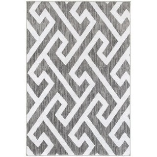 LNR Home Grace LR81121 Grey Rug (5'2 x 7'2)