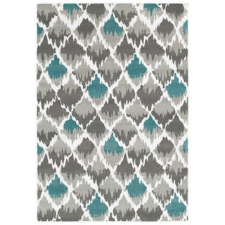 LNR Home Grace LR81124 Grey Rug (5' x 7'2)