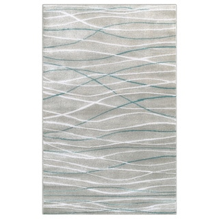 LNR Home Grace LR81126 Grey Rug (3'6 x 5'6)