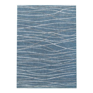 LNR Home Grace LR81125 Teal Rug (5' x 7'2)