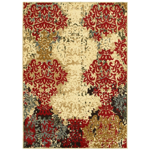Lr Home Grace Lr81129 Red Rug 3 X27 6 X 5