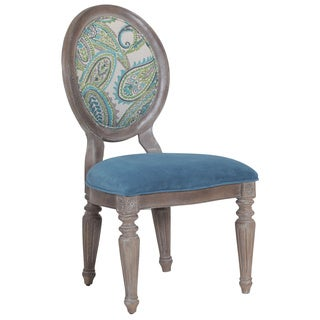 Bombay Outlet Verona Paisley and Velvet Chair (Set of 2)