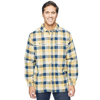 Stanley Men's Flannel Micro Fleece Shirt