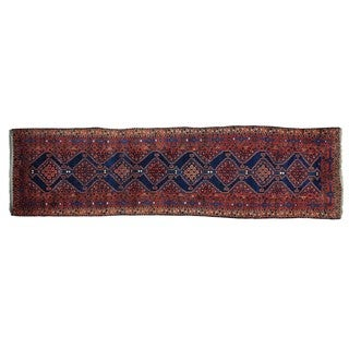 Antique North West Persian Full Pile Wide Runner Rug (3'9 x 13'9)