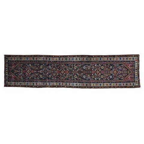 Antique Persian Hamadan Oriental Runner Rug