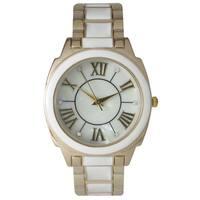 Olivia Pratt Classic-Inspired Colorful Cuff Watch