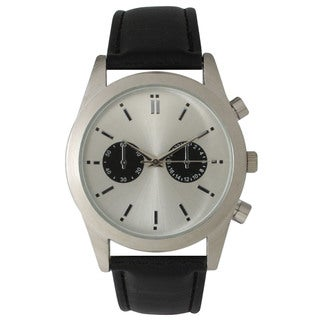 Olivia Pratt Women's Leather Modern Boyfriend Watch