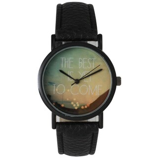 Olivia Pratt Women's Leather Sunset Inspiration Watch (More options available)